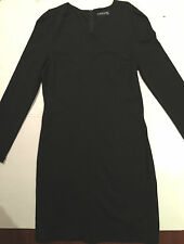 Korean Brand Black Dress with Heart Shape Collar Size M - Brand New Without Tag