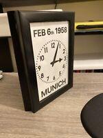 Manchester United Munich Air Disaster Old Trafford Clock Replica Mini Replica
