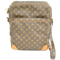 Louis Vuitton Amazon GM M45234 Monogram Shoulder Crossbody Bag Messenger Brown