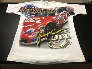 Vintage Jimmy Spencer Winston No Bull #23 Nascar Racing Shirt sz Large