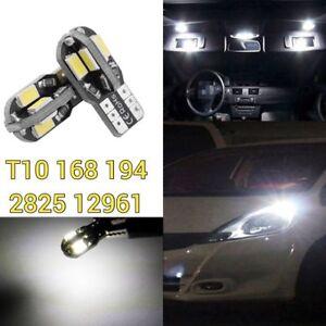 T10 194 168 2825 w5w 175 LED White LED Reverse Backup Lamp Canbus B1 12