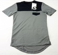 Pearl Izumi Men's Divide Top Cycling Jersey XL Short Sleeve Black Grey