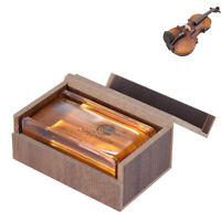 musikinstrument accessoire erhu geige kolophonium box - verpackung string