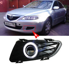 New COB Angel Eyes Projector Lens Fog Lights Lamp Exactly for Mazda 6 2004