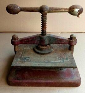 Presse papier de notaire, de relieur ancienne