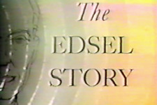 """1957 """"The Edsel Story."""" Film transferred to Dvd"""