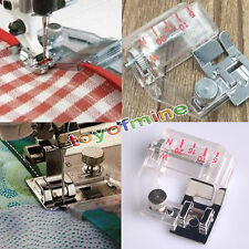 DZ1121 Snap On Adjustable Bias Tape Binding Foot Brother Janome Sewing Machine