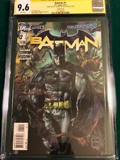 CGC 9.6 Batman #1 Ethan Van Sciver 1:25 Variant SIGNED by Scott Snyder