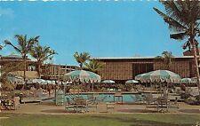 B52012 Trinidad Tobago Hilton Hotel Pool and Terrace Port of Spain