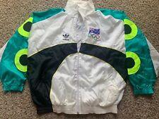 Vintage ADIDAS Super Rare Australia Team Olympics Jacket Neon M Adult
