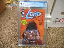 Lobo's Back cgc 9.8 DC 1992 manufactured with TRIPLE cover all 3 covers cgc 9.8