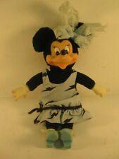 Walt Disney Mini Mouse stuffed animal with plastic face