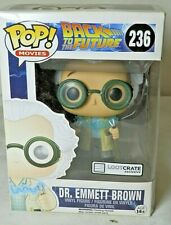 Funko Pop! Movies #236 Dr. Emmett Brown Back to the Future Loot Crate Exclusive