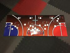 NBA Jam Arcade Control Panel Overlay CPO Midway TE Vinyl Decal Sticker