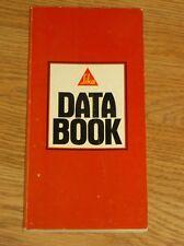 SIKA DATA BOOK    130 PG PB