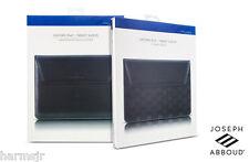 "Joseph Abboud Oxford 10"" Leather Sleeve for iPad 2,3,4 iPad Air, Air 2, 9.7"" Pro"