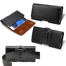 Belt Clip Holster Leather Case Cover For iPhone 5 5G 5C 5S SE