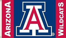 """Arizona Wildcats 3' x 5' Flag (""""A"""" Logo) College NCAA Licensed with grommets"""