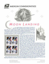 #442 29c Moon Landing Anniv. #2841a USPS Commemorative Stamp Panel