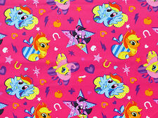 FAT QUARTER  MY LITTLE PONY CUTIE TOSS  100% COTTON FABRIC  SPRINGS CREATIVE  FQ