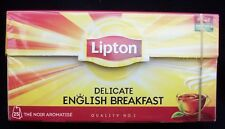 Lipton Delicate English Breakfast Tea Bags ( 1 box Of 25 )  Free UK Delivery