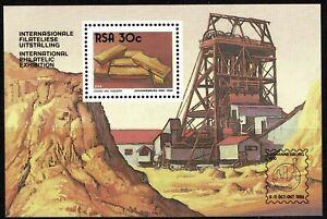 South Africa 1986 International Philatelic Exhibition Souvenir Sheet - MUH