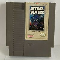 Nintendo NES Star Wars Video Game Cartridge Authentic Cleaned Pins Vintage