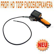 Profi HD 720p 1-Meter Farb Endoskop Kamera Videoskop Borescope Endoskopkamera