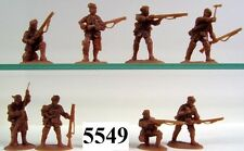 ARMIES in Plastic 5549 French & Indiano ROGERS RANGER Figure/KIT GIOCHI DI GUERRA