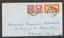 Indo-China Sc 162/C15 on 1949 cover to France