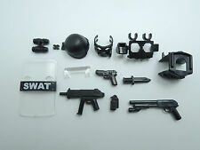 (NO.11-2) custom lego swat police helmet military gun army weapon
