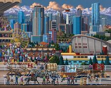 Jigsaw puzzle International  Calgary Canada 500 piece NEW Made in USA