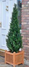 Best Artificial 5ft 150cm Topiary Cedar Outdoor Tree alt Boxwood Spiral Ball Bay