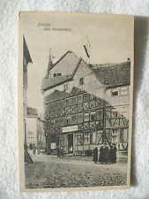 12469 AK Baden Weiler Villa Saupe e Roseneck 1922 ferrovia post Moll domestica Baden Weiler