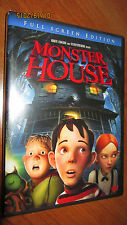 Monster House DVD 2006 Brand New Full Screen Edition PG Movie Cartoon Animated