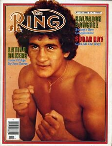 SALVADOR SANCHEZ 8X10 PHOTO BOXING PICTURE THE RING