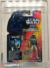 Kenner Star Wars BOBA FETT (INT'L Version Red Card) AFA 75 (75/85/95) (1996)