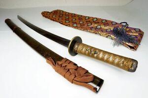 "Gorgeous KOSHIRAE: Japanese Samurai Wakizashi Sword ""Kanenori 兼法"" Nihonto Katana"