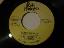 "Junior Brammer & Scorpion - Heart Breaker b/w Version 7"" (Park Heights) Jamaica"
