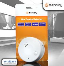 Mercury Photosensitive Mini Smoke Detector Fire Alarm