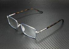 GUCCI GG0391O 008 Rectangular Blue Silver Havana Demo Lens 55mm Men's Eyeglasses