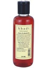 Khadi Herbal Honey & Almond Oil Herbal Shampoo 210ml Free Shipping worldwide