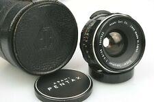 35mm f3.5 PENTAX SUPER-TAKUMAR in Case +Caps 42mm Screw Mount M42 USM (Fungus)