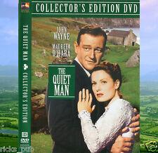 THE QUIET MAN Irish Movie Drama DVD ● John Wayne Maureen O'Hara ● R1 Plays USA