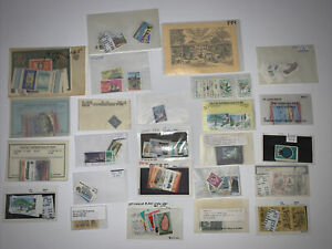 St. Lucia Stamps Collection Lot 50+ Trees Engravings People Nature