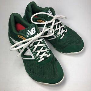 New Balance T3000TG4 Green Vegan Low Lace Up Mens Baseball Turf Sneakers Sz 7