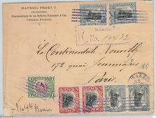 58605  - GUATEMALA  - POSTAL HISTORY: COVER to FRANCE - 1903 - VERY NICE!! birds