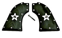 "fits Heritage Arms Rough Rider grips 6 & 9 Shot .22 ""Stainless Studs & Stars"""