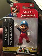 "Ice Mario -- 2.5"" Action Figure, World of Nintendo, series 2-3 L@@K"