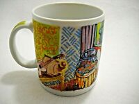 """Chaleur Mug by D. Burrows Masters Collection H. Matisse Cup 4"""" high 3.5"""" wide"""